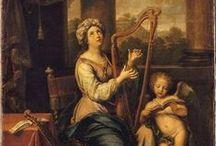 17th century harp iconography