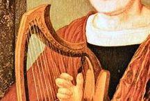 16th century harp iconography