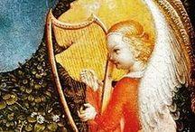 15th century harp iconography