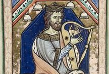 13th century harp iconography