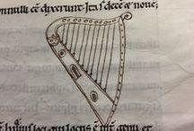 12th century harp iconography