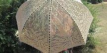 Szydełko - parasole