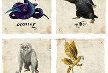 Animales Fantásticos Fanarts