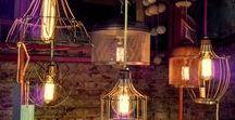 LAMPARAS ESTILO INDUSTRIAL