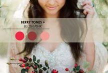 Hochzeitstrend - Farben