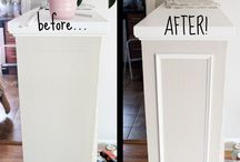 Adding molding to bookshelf