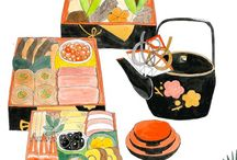 japanese food illustration