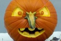 Pumpkins Galore / Take a look at this scary lot....