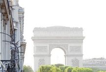 Londen + Paris / London | Paris | New York | The city life | Beautiful city architecture  / by Bow & Blush
