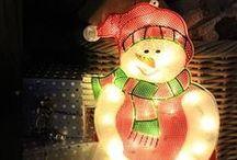 We Love LEDs At Christmas! / Yep. Anywhere & everywhere.