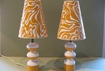 Lights, please! / Beautiful lamps and lampshades, clever lighting ideas