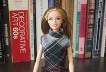 Clothes for fashion dolls / My own projects made on sewing machine. See more at: http://szycienocne.blogspot.com