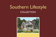 Southern Lifestyles Home Plans / 17 plans designed to allow you to enjoy the important things in life. The layouts include lots of open living space and large kitchens — perfect for displaying your southern hospitality to friends and family alike. This collection includes ranch, cape and two-story designs.