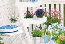 WOHNEN: Balkon / Schöne DIY Ideen und Inspirationen rund um den Balkon