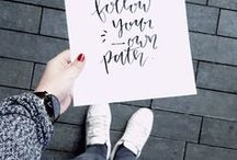 HANDLETTERING: Quotes / Quotes inspiration