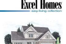 The Easy Living Home Plan Collection / Simple lines, pleasing symmetry, unique roof lines and casual layouts. This collection of 20 floor plans offers a wide range of choices. Includes the following home styles: ranch, cape and two-story.  To learn more about building your next home with Excel Homes, or to download any of our brochures, visit http://www.excelhomes.com