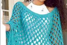 pletené a háčkované oděvy-dospělé