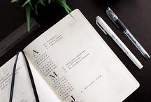 Bullet Journal / Planning