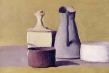 Giorgio Morandi / Giorgio Morandi (July 20, 1890 – June 18, 1964) was an Italian painter and printmaker who specialized in still life. His paintings are noted for their tonal subtlety in depicting apparently simple subjects, which were limited mainly to vases, bottles, bowls, flowers and landscapes.