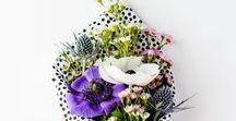 DIY: Blumen verpacken / Blumen verpacken: Hier findest du Inspirationen und DIY Ideen zum Blumen hübsch verpacken!