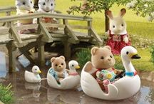 Sylvanian Families / calico critters ↨dollhouse