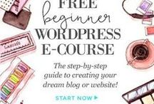 Learning WordPress / Here are articles I used to build my website, including free WordPress themes and tutorials.