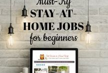 Money Making / Ways to earn extra money, side hustle ideas, and stay-at home jobs