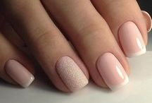 Nails / Nail art, manicures, pedicures, gel, polish colors, nail color of the moment, best nail art ideas