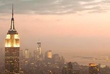 """NeW yOrK / """"Make your mark in New York and you are a made man."""" // Mark Twain"""
