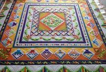 Awesome Patchwork Quilts / I love making and looking at different patchwork quilts. See which ones you like.