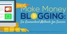 Make Money Blogging / Want to know how to make money blogging? This board is al about making money blogging, working online, making money from home and more.