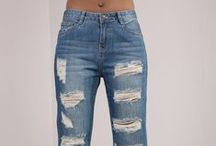 Womens Fashion Jeans / Our catalogue of sexy jeans from LustyChic.com. Skinny, ripped, distressed denim - we've got a broad selection that flatters your figure. Plus sizes jeans too!