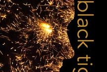 BLACK TIGER / People and places from my dystopian novel BLACK TIGER. Release date: October 6, 2016