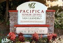 Pacifica Senior Living San Leandro / Welcome to Pacifica Senior Living San Leandro, our beautiful, safe and friendly community of quality caregivers, well trained professionals, and most importantly, satisfied residents.