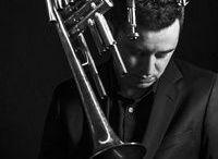 Jean Paul Estiévenart  - trumpeter - trumpet - trompettiste - trompette - bandleader -  Jazz