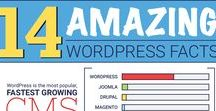 WordPress Infographics / Looking for awesome Infographics about WordPress? This is the board for you. I've curated the best infographics i could find pertaining to WordPress.