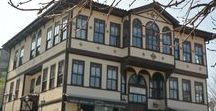 HOUSES - HISTORICAL TRADITIONAL WOODEN HOUSE EXAMPLES FROM TURKEY / XIXth Century wooden houses from different regions of Turkey