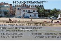 B&B***TERRAZZE SUL MARE / 200 meters from the port of Pozzallo,beach front Raganzino,Rooms with sea view window with all the comforts.