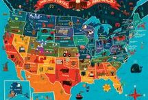 Places in USA / by Beinnc