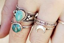 Accessories! / Rings, necklaces, ALL to complete your outfits! Follow :)