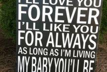 For my sweet Kade...