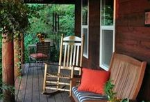 porches patios and sunrooms / by Linda Evans