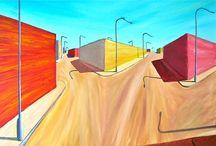 My Paintings  - Dipinti Miei / Alcune mie creazioni ad olio su tela