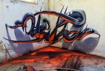 arte da strada - graffiti - street art / Arte di strada