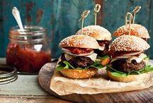 Burgers / Recettes de burgers.. en français !