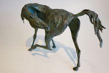Bronze Sculptures / Silver and bronze lost wax sculptures