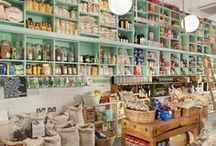Stores / Decoration and good taste in the design of some stores