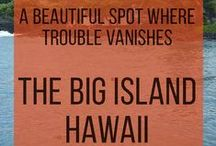 Big Island - Hawaii / The Big Island (HI) provides a vast canvas of environments to discover a variety of unrivaled natural wonders | www.hawaiianrecovery.com | #addiction #recovery #drugrehab #alcoholabuse #hawaii