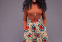 AFROCENTRIC. / Heads wraps, african print and styles that I love!