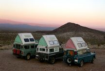 On the Road... / Various vans, campers, tents, travel trailers etc. that catch my interest.
